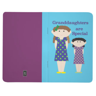 Granddaughter Are Special Pocket Notebook Journal