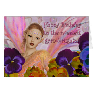 Granddaughter birthday cards - customize it