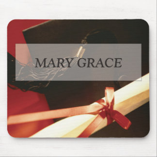 Granddaughter Graduation Wishes, Horizontal Gift Mouse Pad