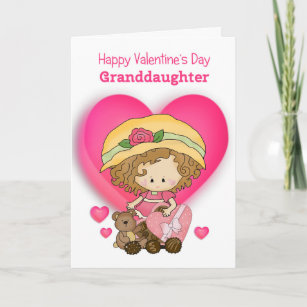 Happy Granddaughter Valentines Day Cards Zazzleca