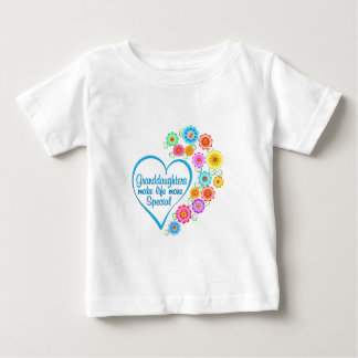 Granddaughter Special Heart Baby T-Shirt
