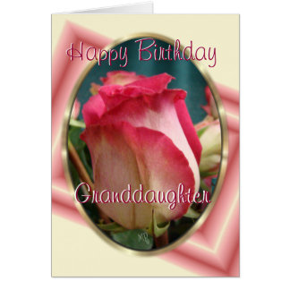 GranddaughterBday-customize any occasion Card