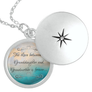 Granddaughters and Grandmothers Sterling Silver Necklace