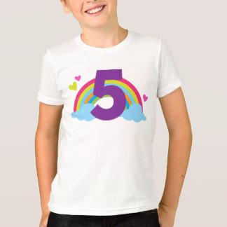 Granddaughters Fifth Birthday T-Shirt