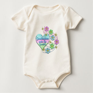 Granddaughters Make Life Sparkle Baby Bodysuit