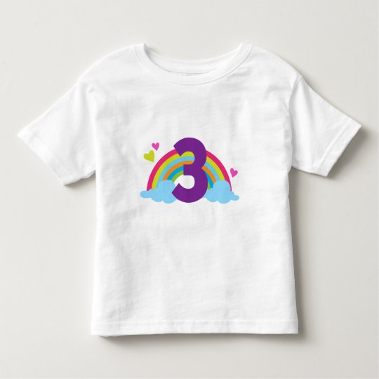 Granddaughters Third Birthday Toddler T-shirt