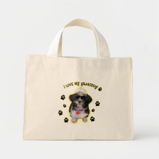 Granddog Mini Tote Bag