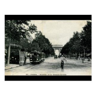 Grande Armée Paris France 1908 Vintage Postcard