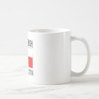 Grande grand-maman polonaise fière mug blanc
