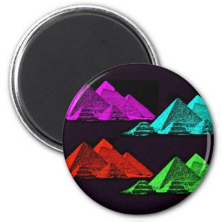 Grande pyramide de collage de Gizeh Aimants Pour Réfrigérateur