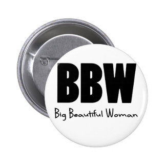 Grandes belles femmes de BBW Macaron Rond 5 Cm
