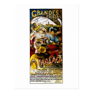Grandes Fiesta en Malaca Postcard