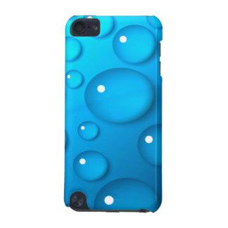 Grandes gouttes de l'eau bleues coque iPod touch 5G