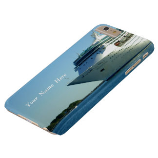 Grandeur Entering Channel Custom Barely There iPhone 6 Plus Case