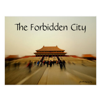 Grandeur of the Forbidden City Poster
