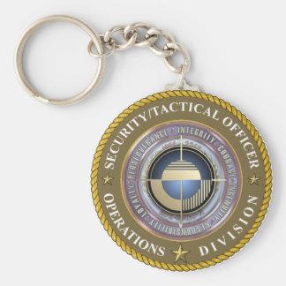 Grandeur Security Department Keychain