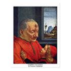 Grandfather And Grandson By Domenico Ghirlandaio Postcard
