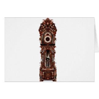 Grandfather Clock Card