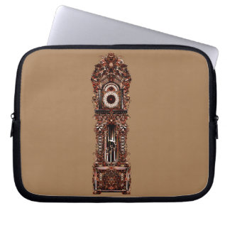 Grandfather Clock Laptop Sleeve