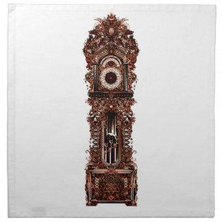 Grandfather Clock Napkin