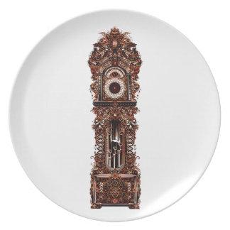 Grandfather Clock Plate