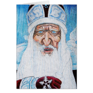Grandfather Frost Card