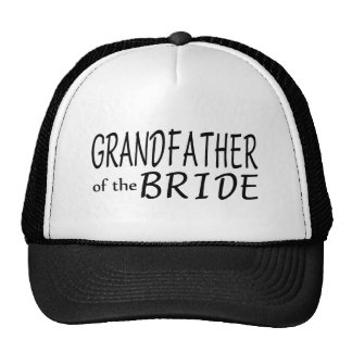 Grandfather Of The Bride Trucker Hat
