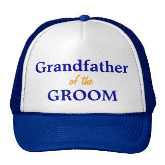 Grandfather of the Groom cap Trucker Hat