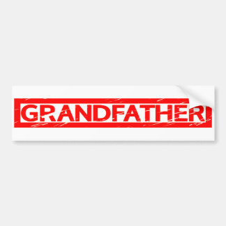 Grandfather Stamp Bumper Sticker