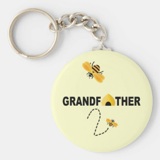 Grandfather To Be Keychain