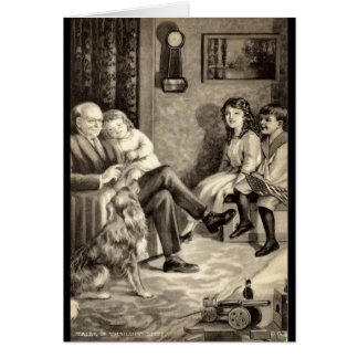 Grandfather's Tales Vintage 1918 Card