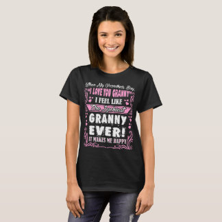 Grandkids I Love You Luckiest Granny Ever Tshirt