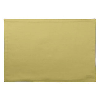 Grandly Luxurious Gold Color Placemat