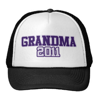 Grandma 2011 Granny to be Trucker Hat