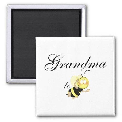 Grandma 2 be fridge magnet