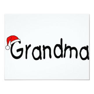"Grandma 4.25"" X 5.5"" Invitation Card"
