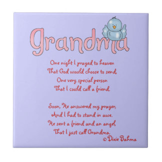 Grandma angel/friend tile
