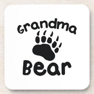 Grandma Bear Coaster