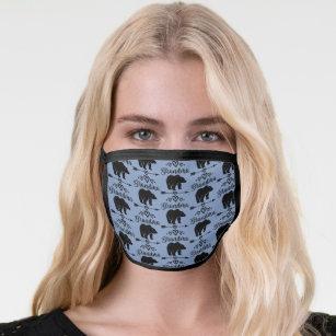 Grandma Bear Gift for Grandmother Face Mask