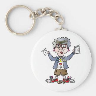 Grandma Bingo Keychain