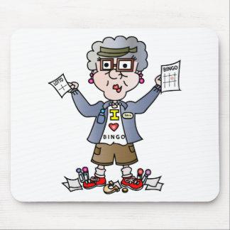 Grandma Bingo Mouse Pad