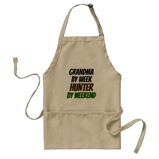 Grandma by Week Hunter by Weekend Standard Apron
