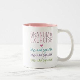 Grandma Exercise Morning Mug