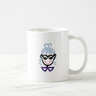 Grandma Face Coffee Mug