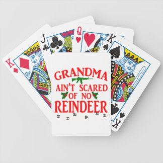 Grandma Got Ran Over Bicycle Playing Cards