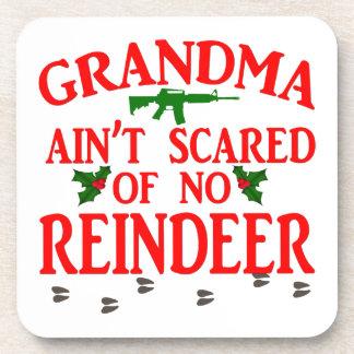 Grandma Got Ran Over Drink Coasters