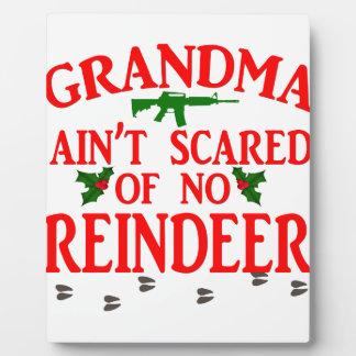 Grandma Got Ran Over Plaque