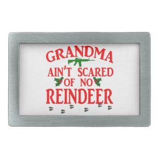Grandma Got Ran Over Rectangular Belt Buckles