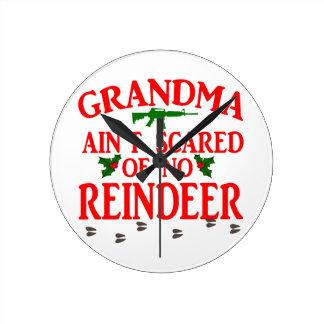 Grandma Got Ran Over Wallclock