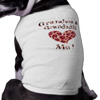 Grandma Grandpa Dog Love Dog Tshirt